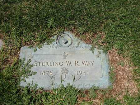 WAY, STERLING W R - Jefferson County, Colorado | STERLING W R WAY - Colorado Gravestone Photos