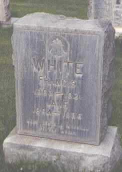 WHITE, FRANCIS - Jefferson County, Colorado | FRANCIS WHITE - Colorado Gravestone Photos