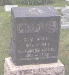 WIBEL, S. W. - Jefferson County, Colorado | S. W. WIBEL - Colorado Gravestone Photos