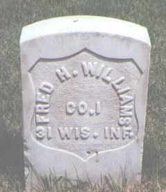 WILLIAMS, FRED H. - Jefferson County, Colorado | FRED H. WILLIAMS - Colorado Gravestone Photos