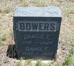 BOWERS, DANIEL F - Kiowa County, Colorado | DANIEL F BOWERS - Colorado Gravestone Photos