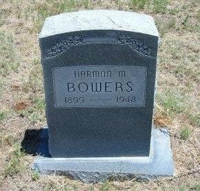 BOWERS, HARMON M - Kiowa County, Colorado | HARMON M BOWERS - Colorado Gravestone Photos