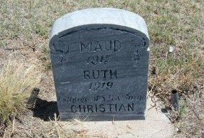 CHRISTIAN, RUTH - Kiowa County, Colorado | RUTH CHRISTIAN - Colorado Gravestone Photos