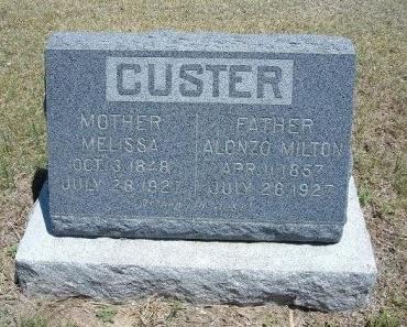 CUNNINGHAM CUSTER, MELISSA - Kiowa County, Colorado | MELISSA CUNNINGHAM CUSTER - Colorado Gravestone Photos