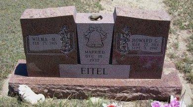 EITEL, HOWARD G - Kiowa County, Colorado | HOWARD G EITEL - Colorado Gravestone Photos