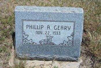 GEARY, PHILLP A - Kiowa County, Colorado | PHILLP A GEARY - Colorado Gravestone Photos