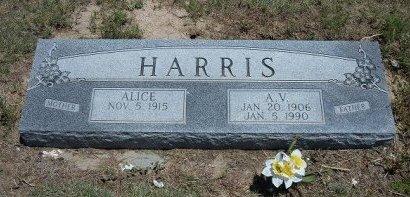 HARRIS, A V - Kiowa County, Colorado | A V HARRIS - Colorado Gravestone Photos