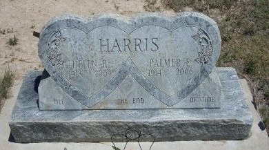 HARRIS, HELEN R - Kiowa County, Colorado | HELEN R HARRIS - Colorado Gravestone Photos