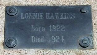 HAWKINS, LONNIE - Kiowa County, Colorado | LONNIE HAWKINS - Colorado Gravestone Photos