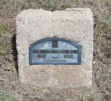 HAWTHORN, WILLIAM NORMAN - Kiowa County, Colorado | WILLIAM NORMAN HAWTHORN - Colorado Gravestone Photos