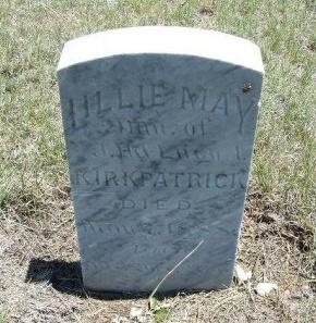 KIRKPATRICK, LILLIE MAY - Kiowa County, Colorado | LILLIE MAY KIRKPATRICK - Colorado Gravestone Photos