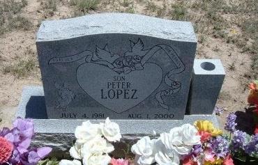 LOPEZ, PETER - Kiowa County, Colorado | PETER LOPEZ - Colorado Gravestone Photos