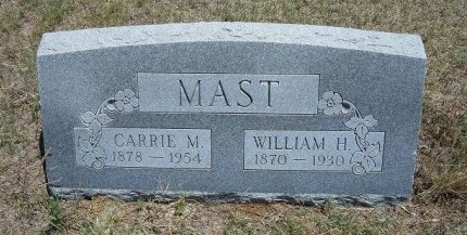 MAST, WILLIAM HENRY - Kiowa County, Colorado | WILLIAM HENRY MAST - Colorado Gravestone Photos