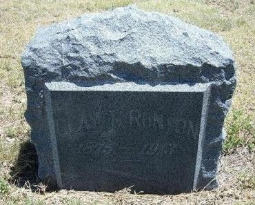 RUNYON, CLAY T - Kiowa County, Colorado | CLAY T RUNYON - Colorado Gravestone Photos