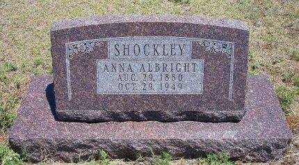 SHOCKLEY, ANNA - Kiowa County, Colorado   ANNA SHOCKLEY - Colorado Gravestone Photos