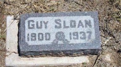 SLOAN, WILLIAM GUY - Kiowa County, Colorado   WILLIAM GUY SLOAN - Colorado Gravestone Photos