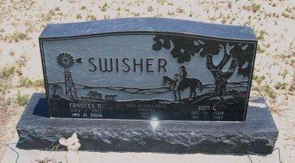 SWISHER, DON C - Kiowa County, Colorado | DON C SWISHER - Colorado Gravestone Photos