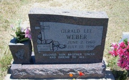 WEBER, GERALD LEE - Kiowa County, Colorado | GERALD LEE WEBER - Colorado Gravestone Photos