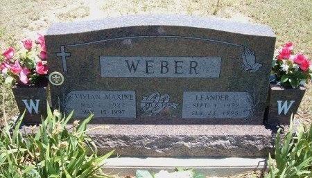 WEBER, VIVIAN MAXINE - Kiowa County, Colorado | VIVIAN MAXINE WEBER - Colorado Gravestone Photos