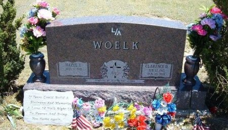 WOELK, CLARENCE - Kiowa County, Colorado | CLARENCE WOELK - Colorado Gravestone Photos