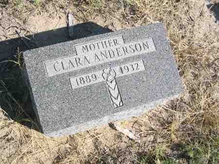 ANDERSON, CLARA - Kit Carson County, Colorado | CLARA ANDERSON - Colorado Gravestone Photos