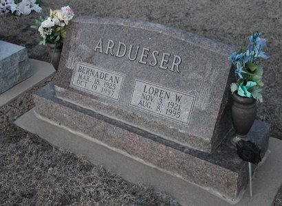 ARDUESER, BERNADEAN - Kit Carson County, Colorado | BERNADEAN ARDUESER - Colorado Gravestone Photos