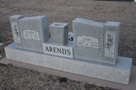 ARENDS, CARL - Kit Carson County, Colorado | CARL ARENDS - Colorado Gravestone Photos