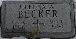 BECKER, HELENA A. - Kit Carson County, Colorado | HELENA A. BECKER - Colorado Gravestone Photos