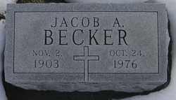BECKER, JACOB A. - Kit Carson County, Colorado   JACOB A. BECKER - Colorado Gravestone Photos