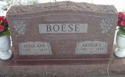 BOESE, LYDIA - Kit Carson County, Colorado | LYDIA BOESE - Colorado Gravestone Photos