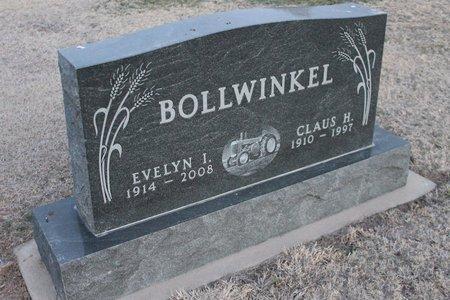 BOLLWINKEL, EVELYN L - Kit Carson County, Colorado | EVELYN L BOLLWINKEL - Colorado Gravestone Photos