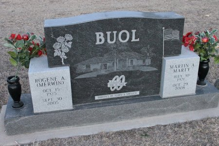 BUOL, MARTIN A (MARTY) - Kit Carson County, Colorado | MARTIN A (MARTY) BUOL - Colorado Gravestone Photos