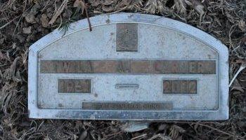 CARTER, TWILA A - Kit Carson County, Colorado | TWILA A CARTER - Colorado Gravestone Photos