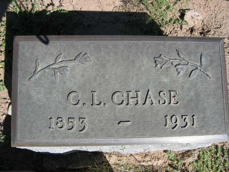 CHASE, C.L. - Kit Carson County, Colorado | C.L. CHASE - Colorado Gravestone Photos