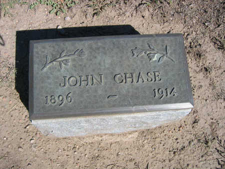 CHASE, JOHN - Kit Carson County, Colorado | JOHN CHASE - Colorado Gravestone Photos