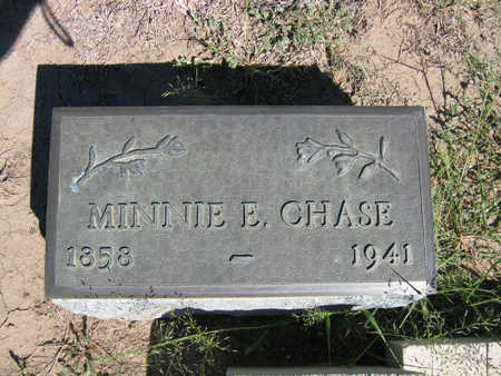 CHASE, MINNIE - Kit Carson County, Colorado | MINNIE CHASE - Colorado Gravestone Photos