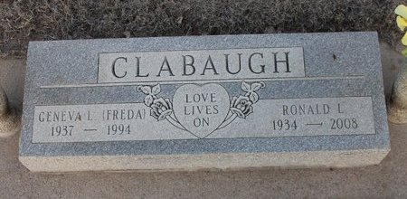 CLABAUGH, GENEVA L - Kit Carson County, Colorado | GENEVA L CLABAUGH - Colorado Gravestone Photos
