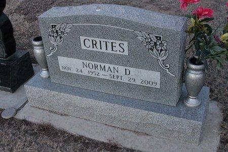CRITES, NORMAN D - Kit Carson County, Colorado   NORMAN D CRITES - Colorado Gravestone Photos