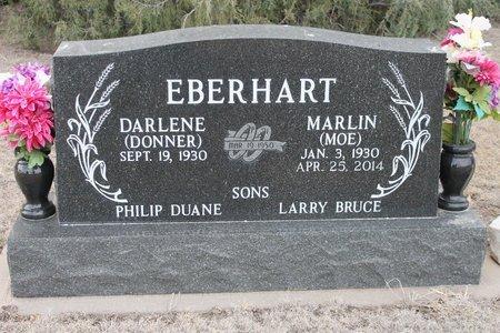 DONNER EBERHART, DARLENE - Kit Carson County, Colorado | DARLENE DONNER EBERHART - Colorado Gravestone Photos