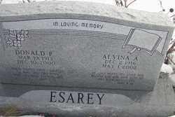 ESAREY, DONALD - Kit Carson County, Colorado   DONALD ESAREY - Colorado Gravestone Photos