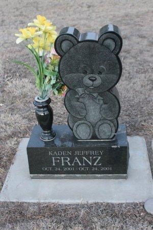 FRANZ, KADEN JEFFREY - Kit Carson County, Colorado   KADEN JEFFREY FRANZ - Colorado Gravestone Photos
