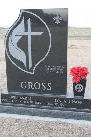 GROSS, IVA A - Kit Carson County, Colorado | IVA A GROSS - Colorado Gravestone Photos