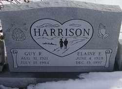 HARRISON, GUY RICHARD - Kit Carson County, Colorado | GUY RICHARD HARRISON - Colorado Gravestone Photos
