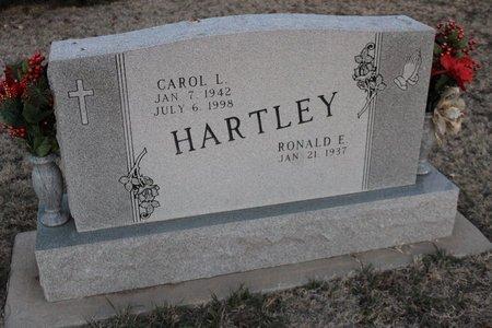 HARTLEY, RONALD E - Kit Carson County, Colorado | RONALD E HARTLEY - Colorado Gravestone Photos