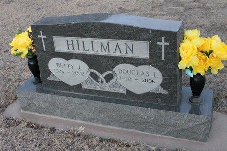 HILLMAN, BETTY J - Kit Carson County, Colorado | BETTY J HILLMAN - Colorado Gravestone Photos