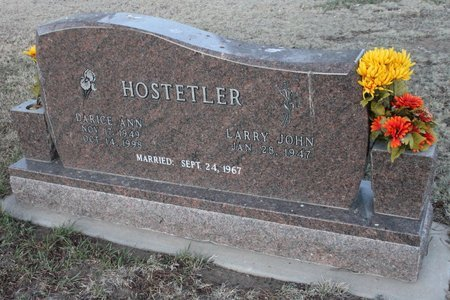 HOSTETLER, DARICE ANN - Kit Carson County, Colorado | DARICE ANN HOSTETLER - Colorado Gravestone Photos