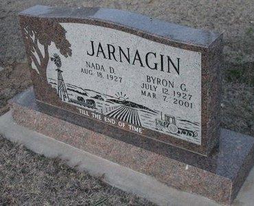 JARNAGIN, BYRON G - Kit Carson County, Colorado | BYRON G JARNAGIN - Colorado Gravestone Photos