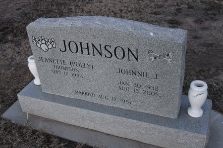 JOHNSON, JOHNNIE J - Kit Carson County, Colorado | JOHNNIE J JOHNSON - Colorado Gravestone Photos