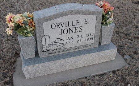 JONES, ORVILLE E - Kit Carson County, Colorado   ORVILLE E JONES - Colorado Gravestone Photos