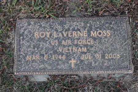 MOSS, ROY LAVERNE - Kit Carson County, Colorado | ROY LAVERNE MOSS - Colorado Gravestone Photos